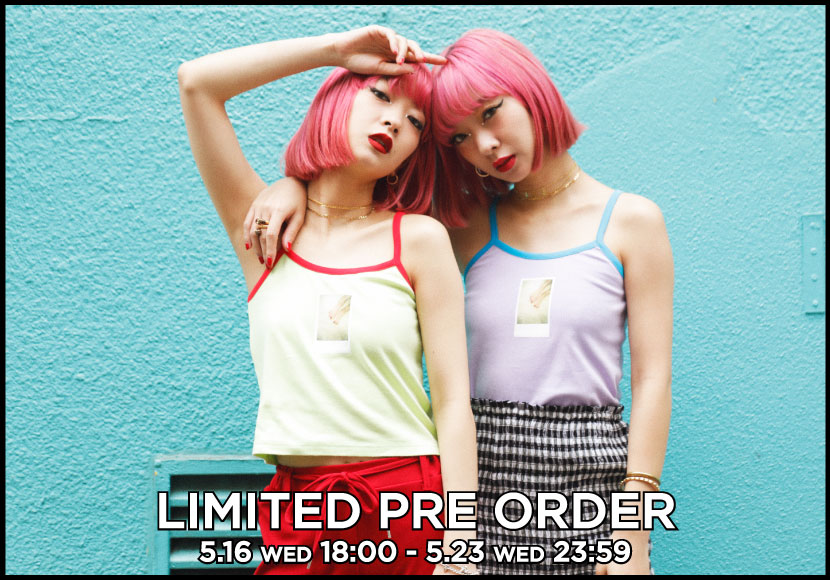 LIMITED PRE ORDER 「THE SECOND FACE by jouetie」
