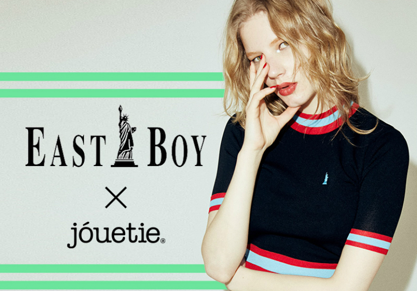 SPECIAL COLLABORATION】 jouetie×EASTBOY