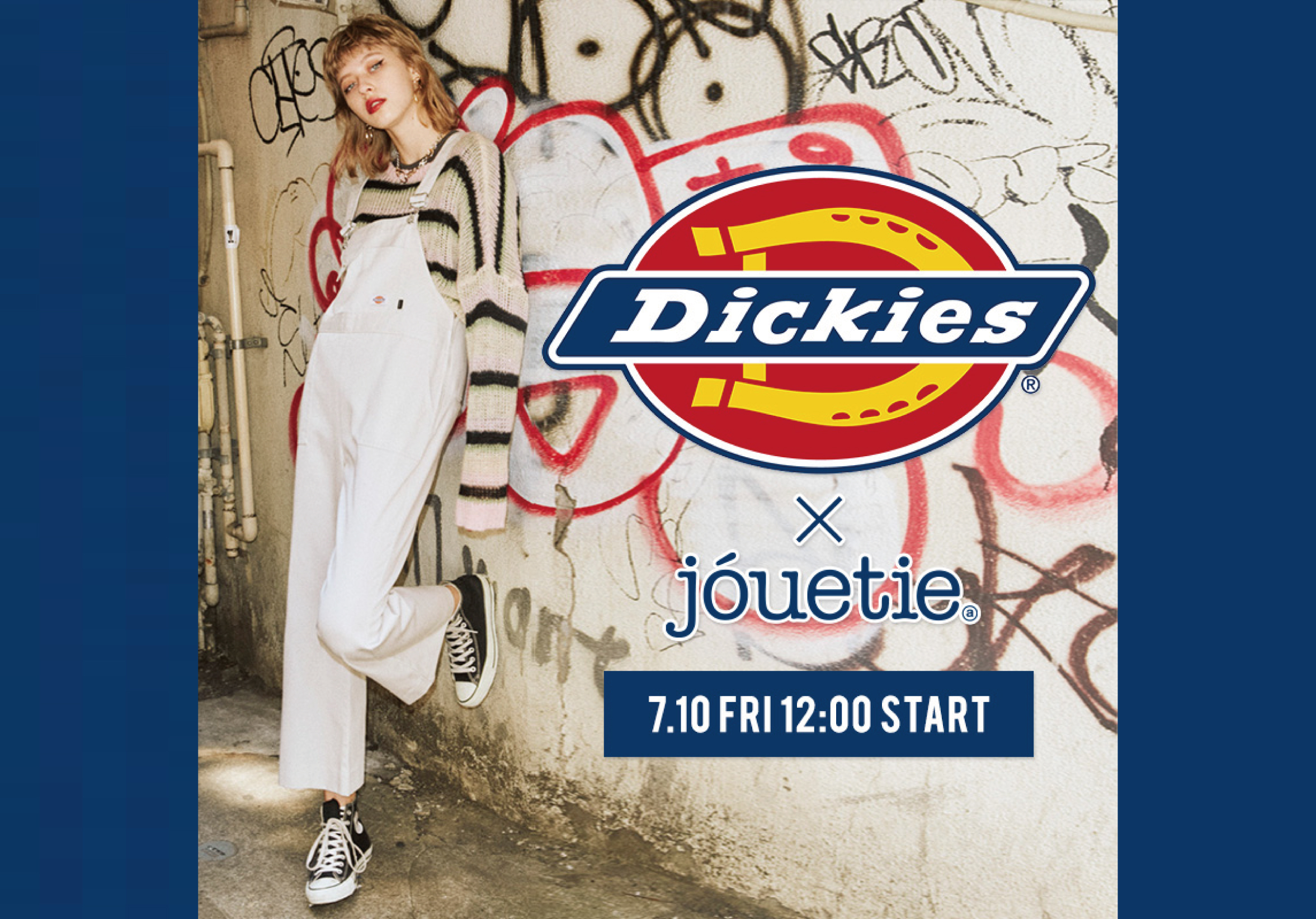 【Dickies×jouetie】