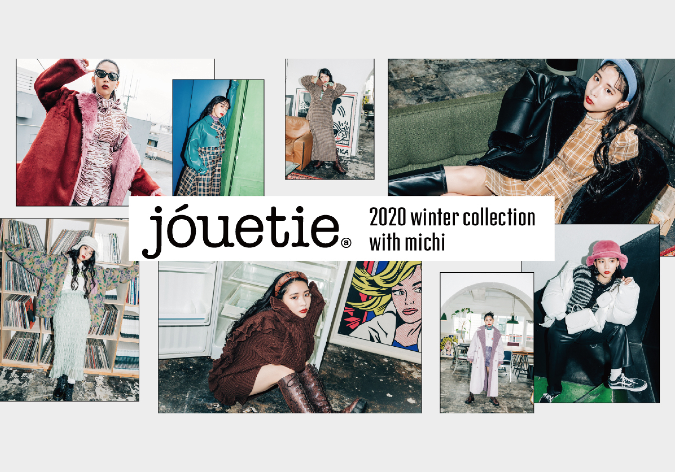 【2020Winter collection with michi】
