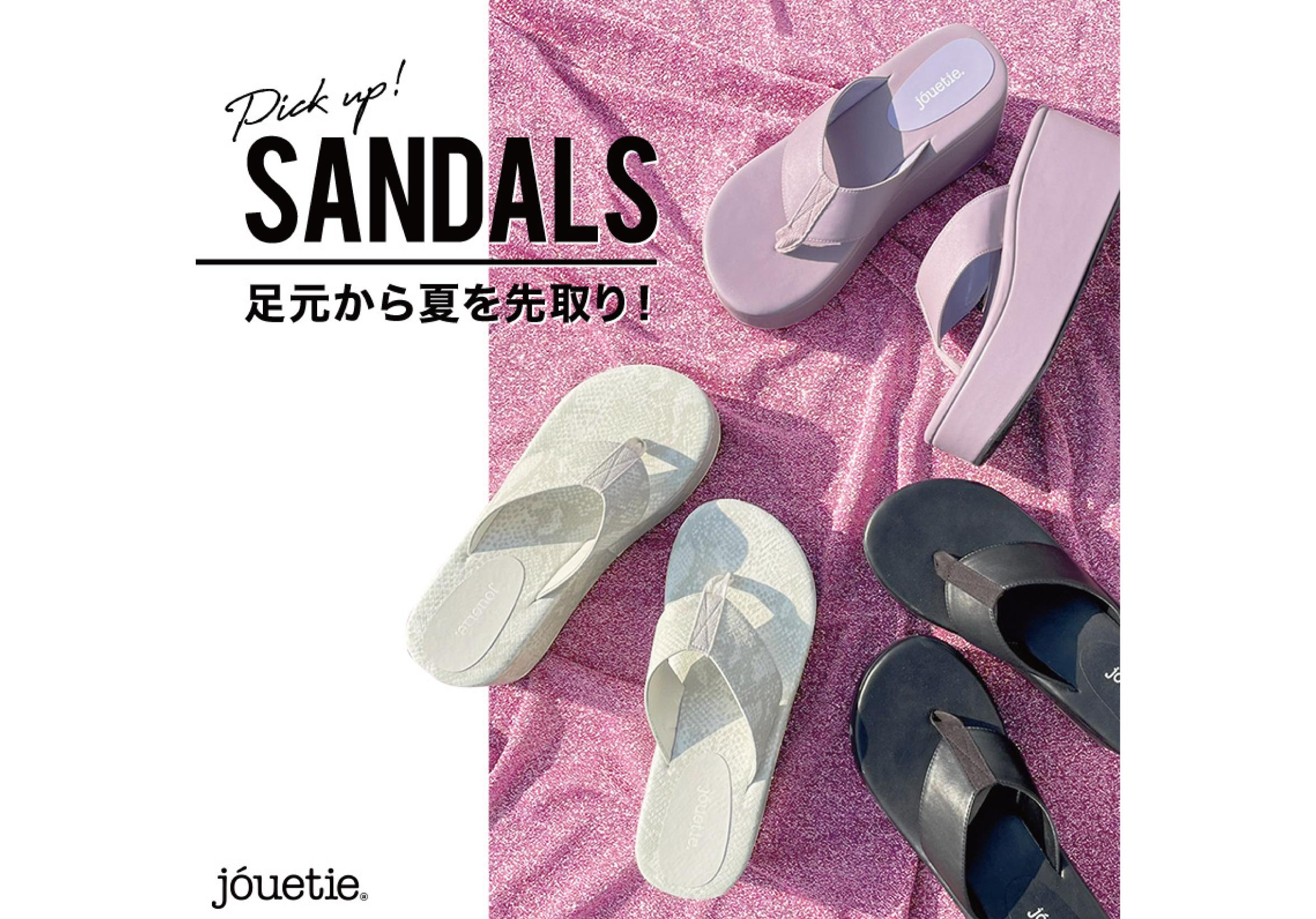 【jouetie SANDALS Collection】