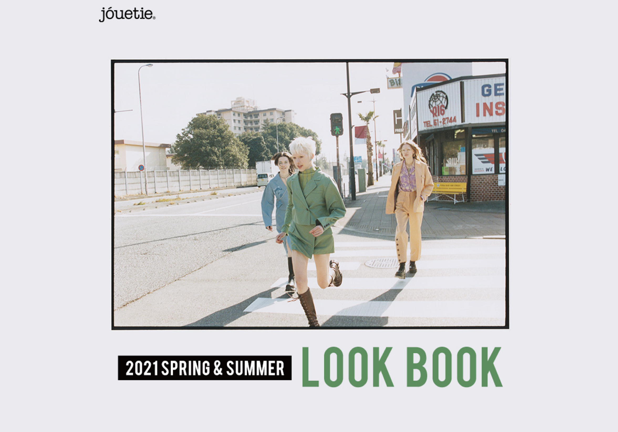 【21SPRING COLLECTION LOOK BOOK】